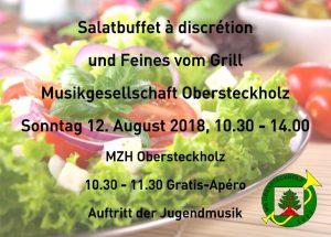 Salatbuffet 2018